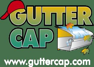 Gutter cap logo